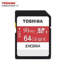 Toshiba SDการ์ดหน่วยความจำUHS U3 64กิกะไบต์90เมกะไบต์/วินาที600×64กรัมSDXC SDการ์ด64กิกะไบต์SDXCการ์ดแฟลชสำหรับกล้องดิจิตอลSLRกล้องวีดีโอDV