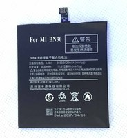 HFY BN30 For Xiaomi Redmi 4A Battery 3030mAh For Xiaomi Hongmi 4A Cellphone Battery Red Mi