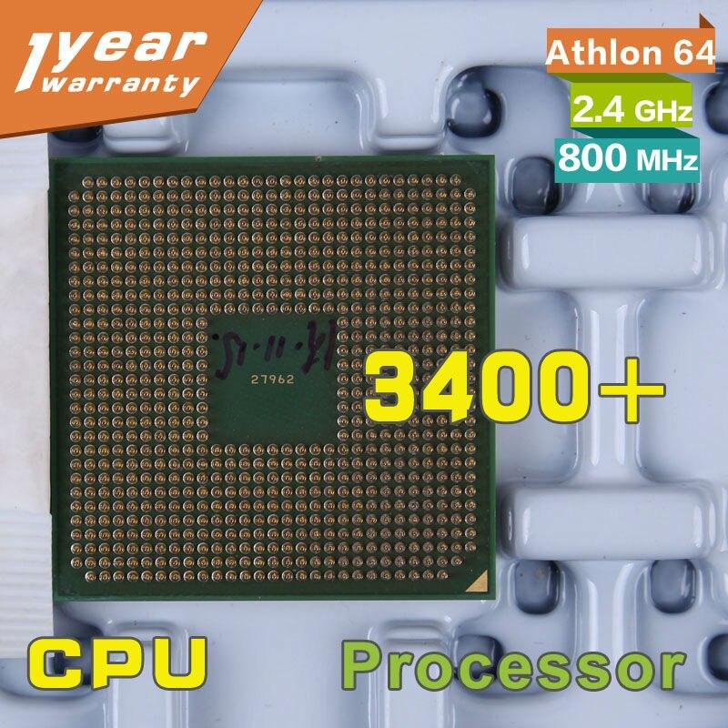 100 Working For Athlon 64 3400 Ada3400aep4ax 800 Mhz 2 4 Ghz Socket 754 Cpu Processor Processor T8300 Processor Moduleprocessor 775 Aliexpress