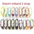 2017 el más nuevo correa de reemplazo para xiaomi mi banda 2 pulseras de silicona pulsera inteligente para xiomi mi caso banda de frecuencia cardíaca 2 pulseras