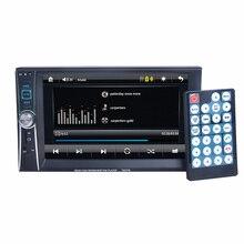 2 Din Reproductor de Radio Del Coche de 7 pulgadas HD Inalámbrica Bluetooth pantalla táctil En el tablero Estéreo Del Coche Reproductor de MP3 Cámara de Visión Trasera FM/USB/TF/AUX