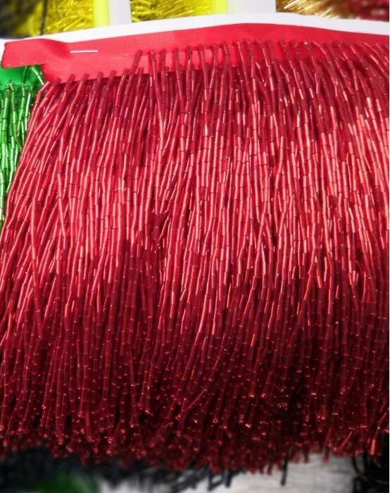 11 colores Venta caliente plata con cuentas flecos Ribbon flecos borla encaje ajuste sat 62706 para vestido de fiesta-in encaje from Hogar y Mascotas    2