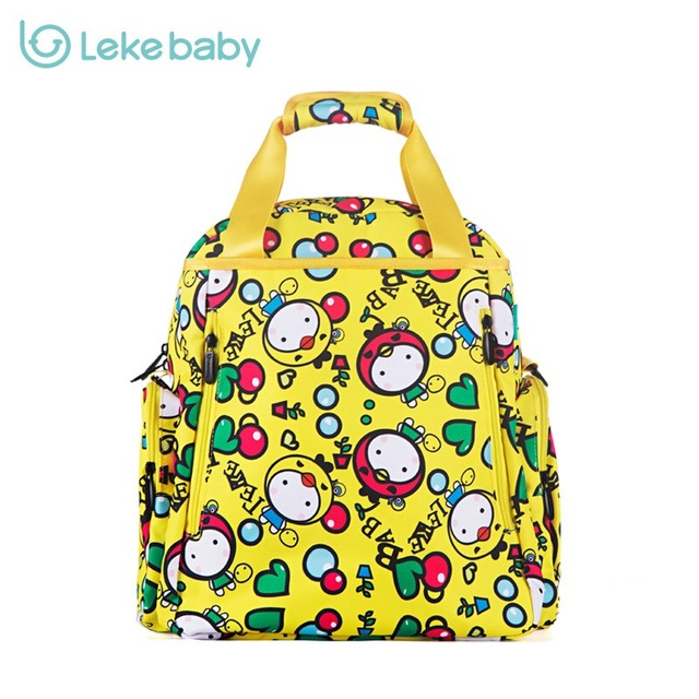 Brand Baby Changing Nappy Diaper Bag Backpack Fashion Mummy Maternity Bags For Stroller Travel Mom Backpacks Mother Handbag