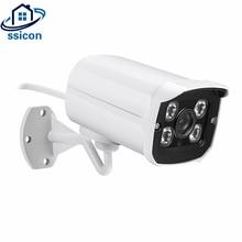 SSICON 2.0MP безопасности инфракрасная камера видеонаблюдения AHD 4 шт. массив светодиодов ИК расстояние 20 М 1080 P водостойкая пуля камера Открытый