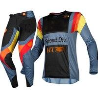 Free Shipping Racing 2019 MX 360 Murc Blue Steel Motorcycle Jersey Pants Combo Adult Motocross Motocross Dirt Bike Gear Set