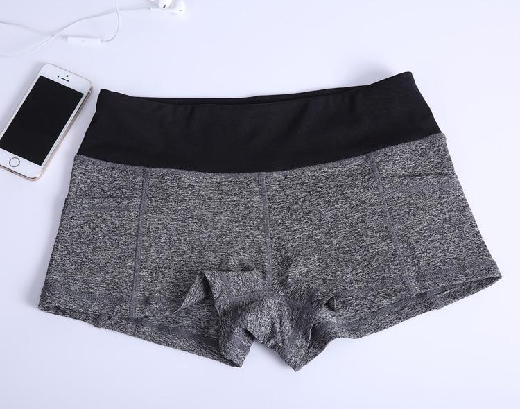 Sieviešu sporta fitnesa jogas šorti novājēšanai pludmales - Sporta apģērbs un aksesuāri - Foto 2
