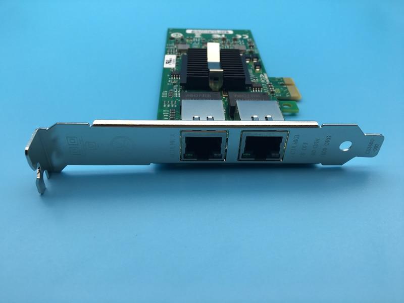 Dual Port Gigabit Ethernet Network Card PCI-E x1 82576 Server Adapter Aggregation / ROS E1G42ET pcie x1 dual port gigabit ethernet network card nh82580db chipset i340t2 pxe ros
