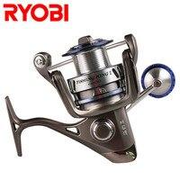 Original RYOBI FISHING KING II 6000 8000 Spinning Fishing Reel 6+1 BBs 5.0:1 10kg Mad Drag Spinning Wheel Carp Fishing Tackle
