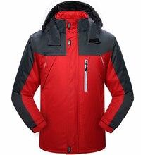 OutdWear Windproof Winter Jacket Men Thick Fleece Camouflage Waterproof Mountaineer Wear Parka Men Jk29 EE