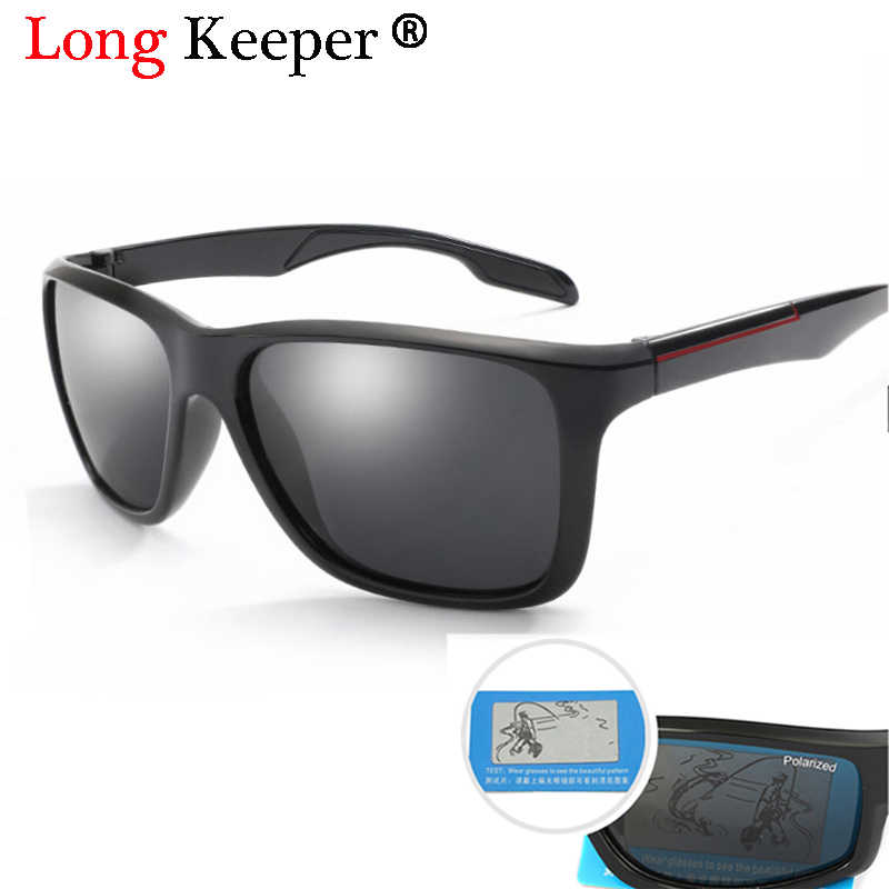 0210285b84 Long Keeper Brand Classic Polarized Sunglasses Women Men Driving TR90 Frame Sun  Glasses Male Goggles UV400