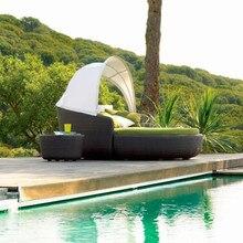 Sigma садовая мебель плетеная кровать день пляжный стул для улицы