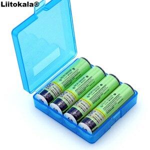 Image 3 - 4 PCS 2019 Liitokala מקורי 18650 3.7 V 3400 mah NCR18650B Lthium סוללה הגנת לוח מתאים עבור פנס סוללה