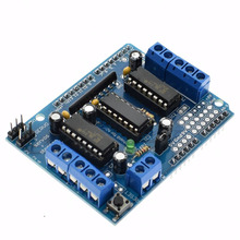 1PCS Big Discount ! Motor Drive Shield L293D for Arduino Duemilanove Mega / UNO, , Dropshipping(China)