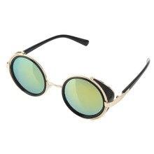 Óculos de sol Redondos óculos de Cyber Goggles Estilo Retro Vintage Blinder AL3101-AL3125