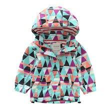 Baby Girl Spring Jackets Windbreaker 2019 Fashion Cartoon Cl