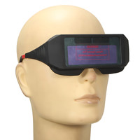 NEW Safurance Solar Powered Auto Darkening Welding Glasses Mask Goggles Workplace Safety Eye Protection