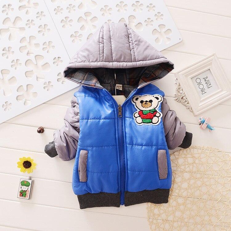 Yeni 2016 Erkek Mont Moda kış giysileri Çocuk Ceketler erkek Kış Mont Ve Ceketler Kalınlaşma Giyim Casaco Infantil