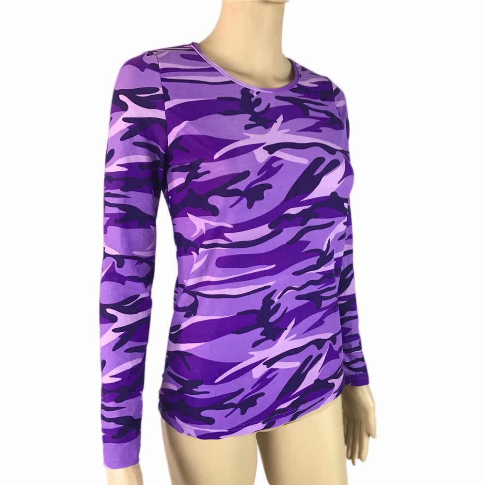 Женская блузка, красная рубашка 2019, камуфляжная рубашка с длинным рукавом, повседневные свободные топы, женская блузка blusas mujer de moda 2019