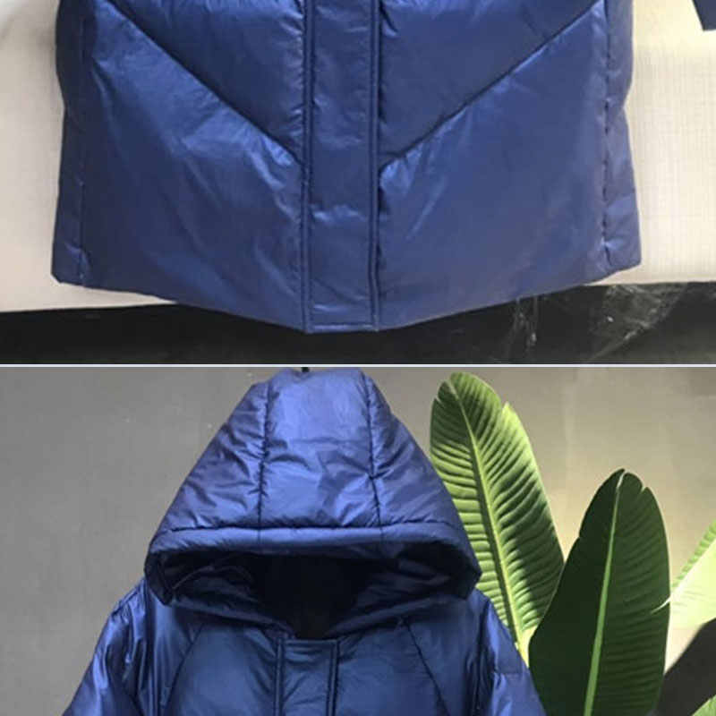 2019 женское пуховое пальто зимняя куртка с капюшоном модная теплая парка женская новая утепленная хлебная длинная пальто Женская куртка chaqueta mujer 461