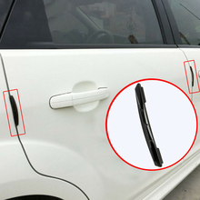 цена на Anti-Scratch Car Sticker Crash Bar 4Pcs Car Anti-Collision Strip Car Door Guard Protector Door Edge Trim Guard Styling Moulding