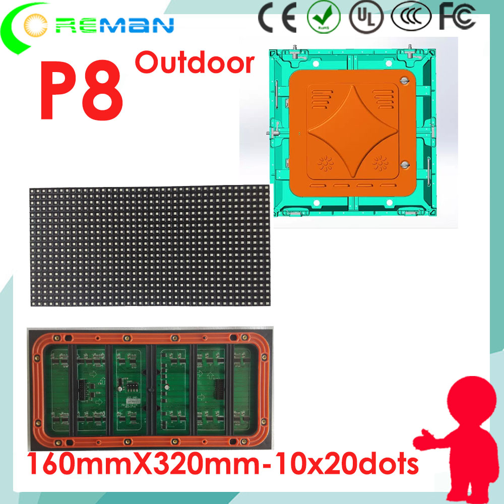 Digital Led Sign Board Component Module P3 P4 P5 P6 Volume Large Learned Albaba Hd Xxx Outdoor P8 Ouotdoor Dot Matrix 40x20 320x160 Led Module Smd Led Displays