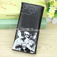 Anime Naruto Cosplay Cartoon male and female students fashion wallet child birthday gift