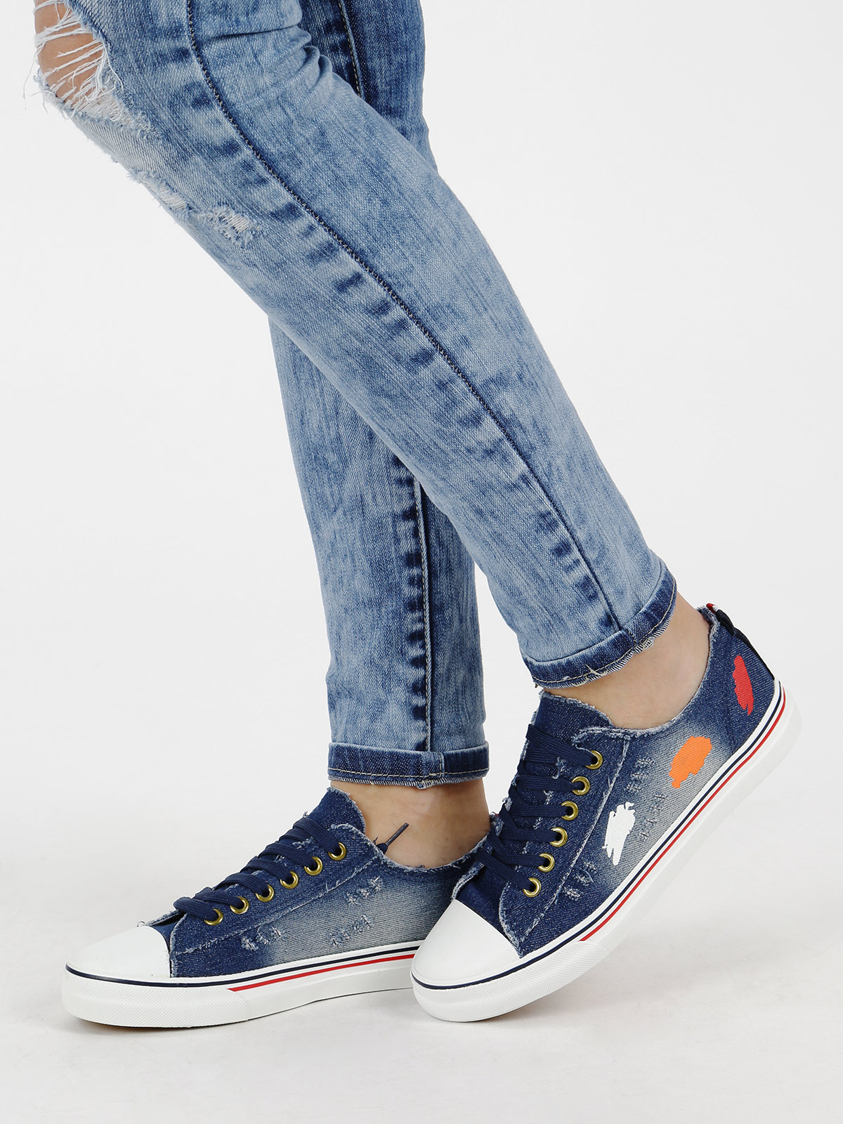 JANESSA Shoe Effect Jeans
