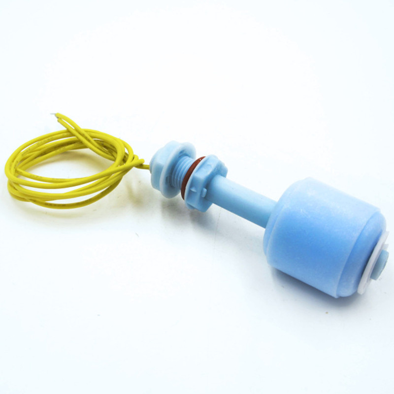52mm PP Liquid Water Level Sensor Horizontal Float Switch Down