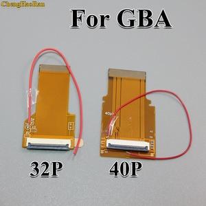 Image 2 - 1 PC החלפת 32Pin 40 פין עבור Gameboy Advance MOD LCD תאורה אחורית כבל סרט עבור GBA SP עם תאורה אחורית מסך Mod 32 P 40 P