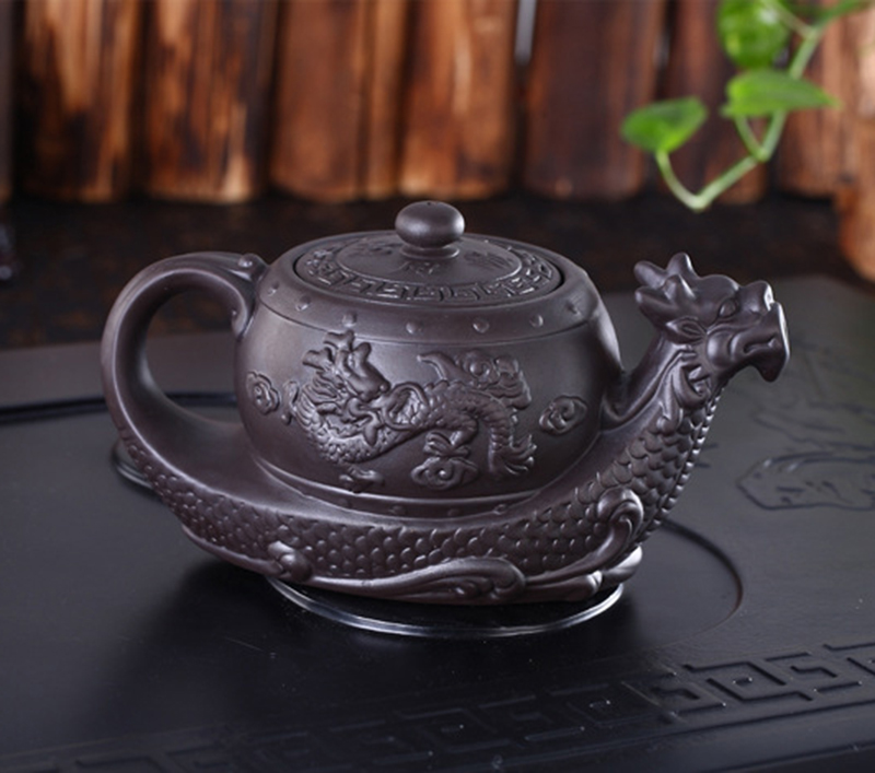 Hot Sales Chinese Yixing purple clay Teapot,Raditional dragon tea pot Big capacity Handmade clay tea set kettle kung fu teapotHot Sales Chinese Yixing purple clay Teapot,Raditional dragon tea pot Big capacity Handmade clay tea set kettle kung fu teapot