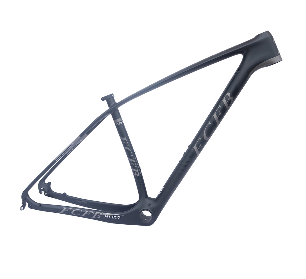 super light 29er 27 5er fat tire mountain bike new carbon frame through axle mtb frame 2017 FCFB Super light 15'' 17''19  21 carbon mountain bike frame 29er 27.5er carbon mtb frames disc Racing bicycle frame