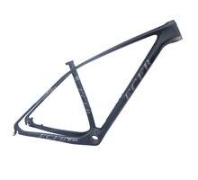 2017 FCFB Super light 15'' 17''19 21 carbon mountain bike frame 29er 27.5er carbon mtb frames disc Racing bicycle frame