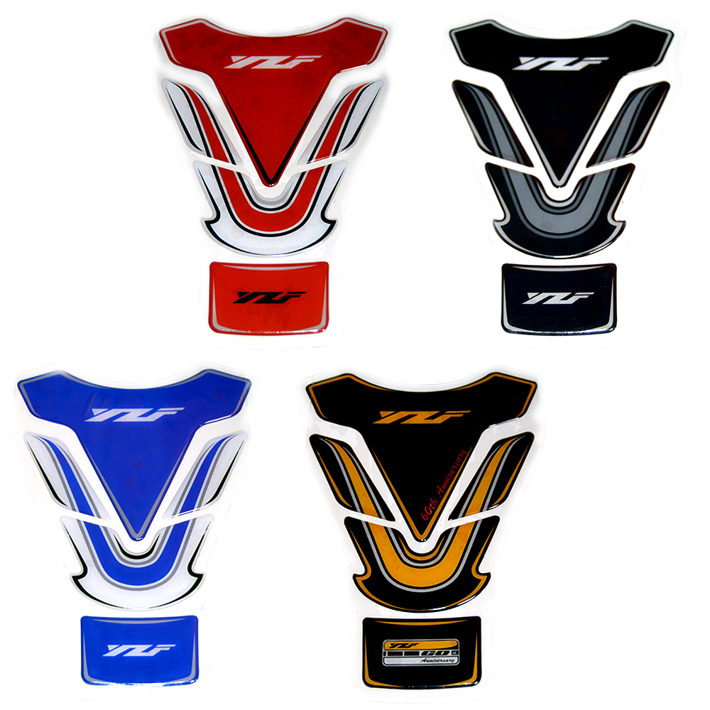 3D Motorcycle Fuel Tank Pad Protector Decals Sticker Case For Yamaha YZF R125 R15 R25 R1 R3 R6