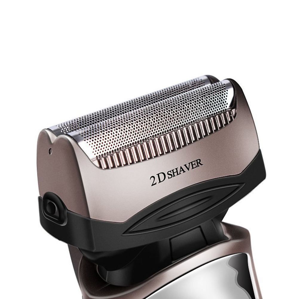 Kemei km-8009 Men's Electric Foil Shaver with 2 Spare Shaving Heads Rechargeable and Cordless Razor cd 8009