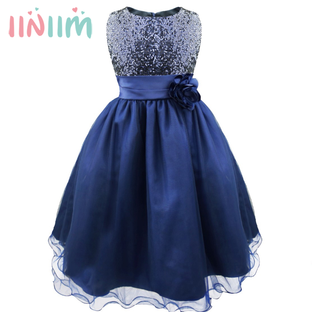 Girl Party Dress Christmas Sresses Summer Formal Girls ...