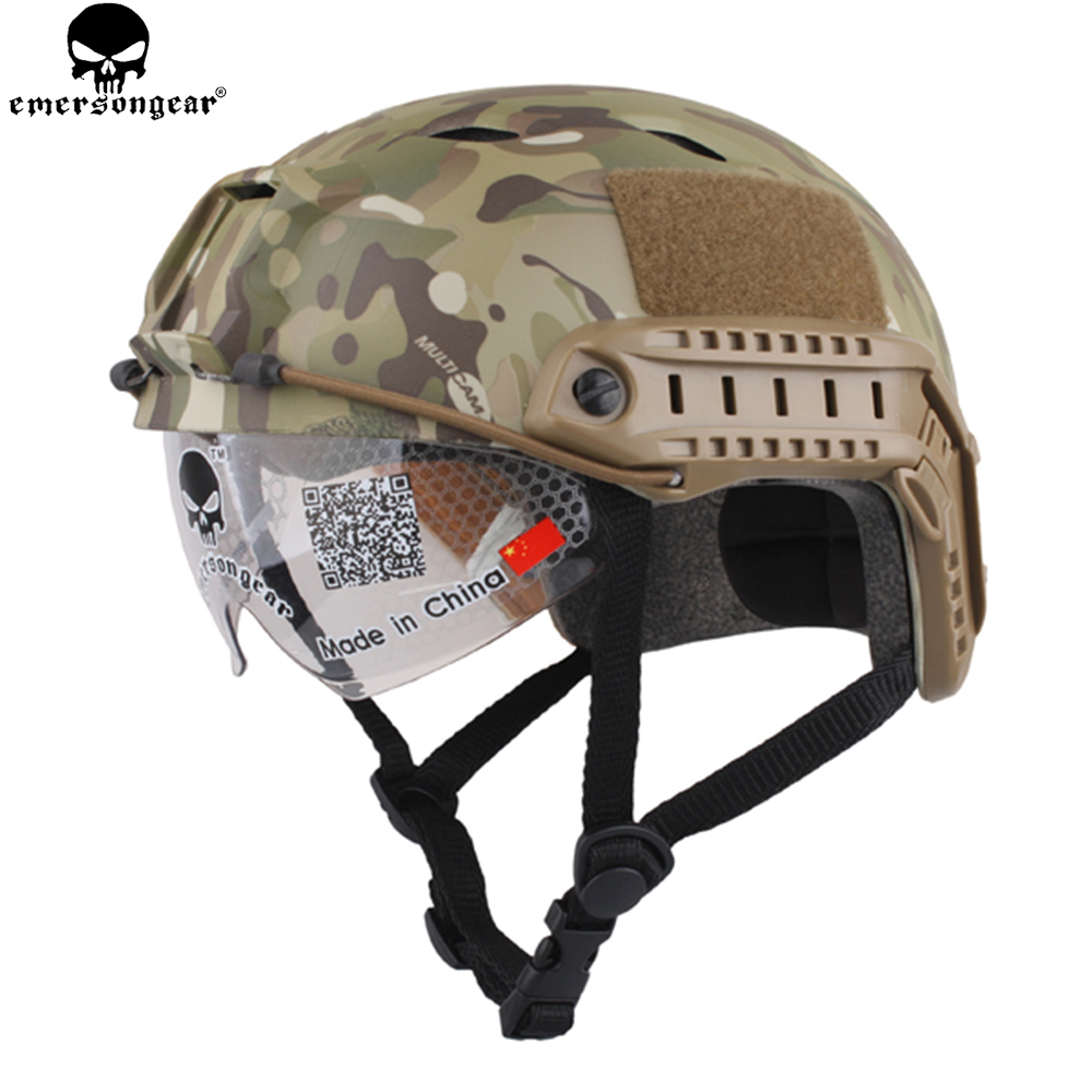 ЕМЕРСОНГЕАР БЈ Тип Брза кацига Тактичке заштитне наочаре Кацига за кацигу за лов на планинарење Бициклизам ЕМ8818