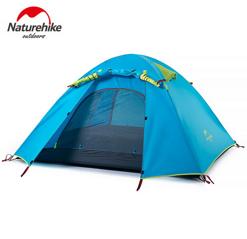 Naturehike outdoor camping 2 person tent. Against rainstorm tent. Travel, outdoor survival, mountaineering, leisure tents