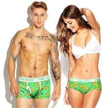 Couple Underwears Cartoon Printing Underpants Knickers