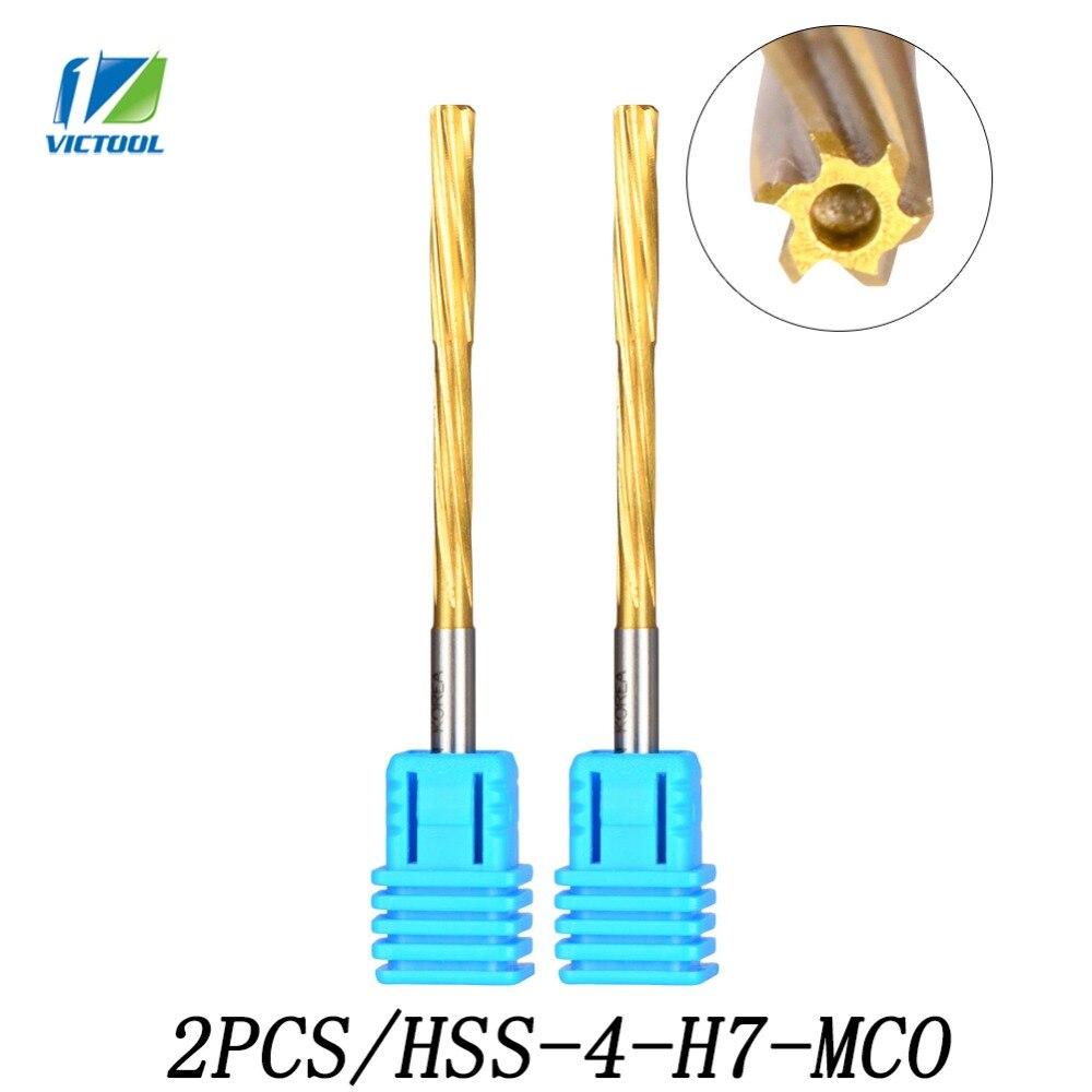 2pcs/set HSS 4-H7-MCO Spiral Reamers Drill Spiral Reamer Precision H7 Free Shipping Cobalt High Speed Steel Screw Reamer Cutters чехол на сиденье skyway chevrolet cobalt седан ch2 2