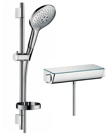 Hansgrohe hansgrohe thermostatic shower combination 27036000 Taps ...