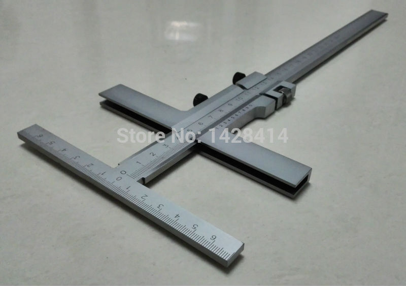 0-250mm T-Type Marking Vernier Caliper With Fine Adjustment/T Marking Vernier Caliper With Fine Ajustment/ T-Type Marking Gauge