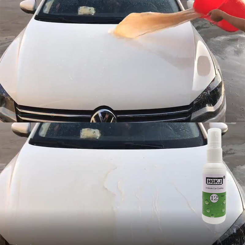 US $2 56 10% OFF Car Wax Spray Car Coating Agent DIY Auto Accessories  Waterproof Cleaning Glass Car Window Cleaner Repair Agent Hydrophobic  Coat-in