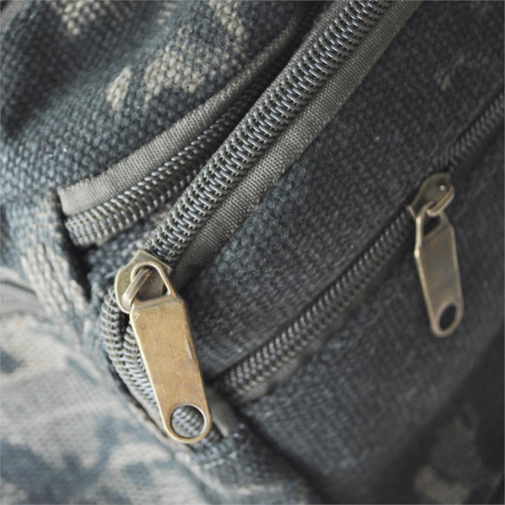 Fashion Boys Girls Kid Canvas Camo Waist BUM BAG Travel Holiday NEW Security - Army Green
