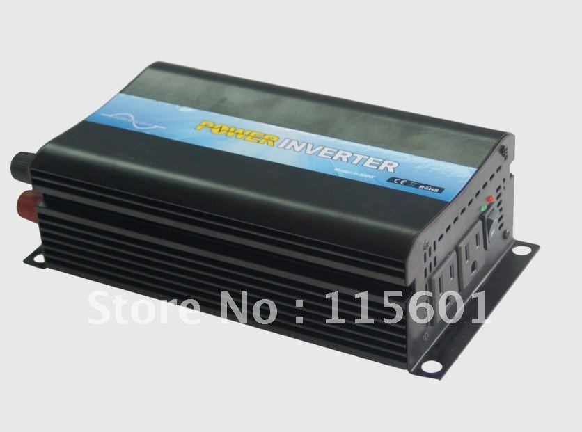 цена на CE&ROHS approved ,dc 12v to ac 110v 600w peak 1200w pure sine wave car inverter,power inverter one year warranty free shipping
