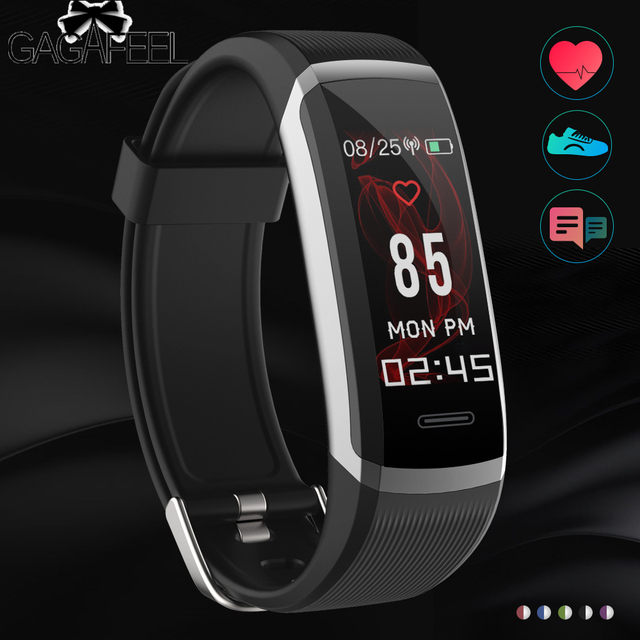 GAGAFEEL GT101 Smart Watch Fitness Tracker Heart Rate Monitor Color Screen Wrist
