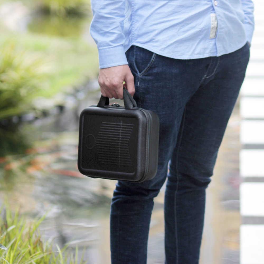 高品質キーカリンバケース親指ピアノmbiraボックスバッグ水耐衝撃の証拠で手袋指ストールクリーニングクロス