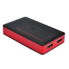 Ezcap 1080P 60fps Full HD видео рекордер 287 HDMI К USB видео захвата карты устройства для Windows Mac Linux Поддержка прямой потоковой передачи
