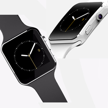 SIM Smart Watch Blutooth font b Smartwatch b font Phone with Build in HD Cam Fitness