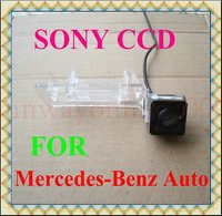 Free Shipping CAR CCD REAR VIEW REVERSE BACKUP HIGH QUALITY SONY CHIP CAMERA FOR Mercedes Benz