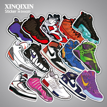 36 pcs pack non repeat notebook luggage bicycle box tide brand shoes Jordan Jordan graffiti waterproof